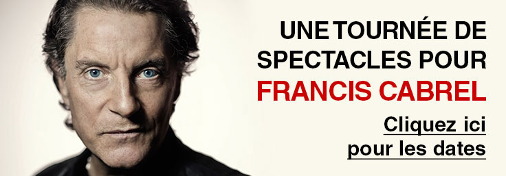 Francis Cabrel - spectacle